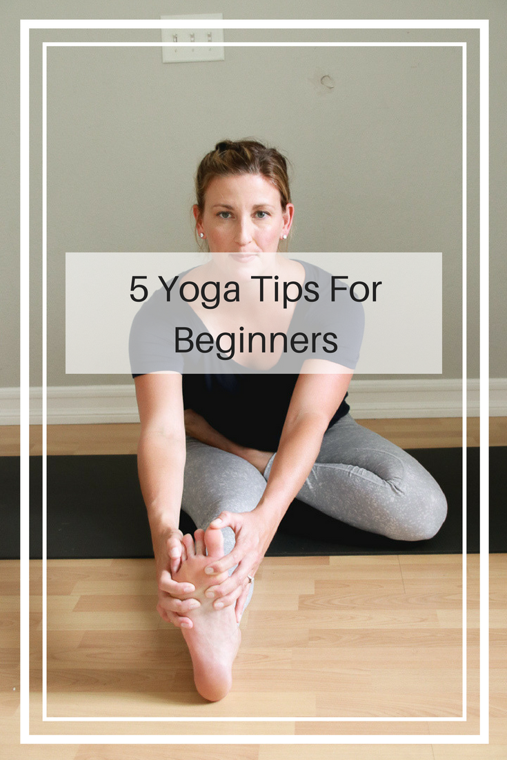 5 yoga tips for beginners that will help you feel comfortable in the studio.