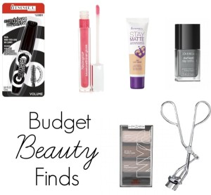 Budget Beauty Finds