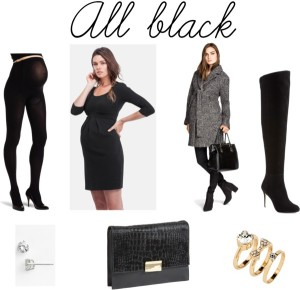 Maternity All Black