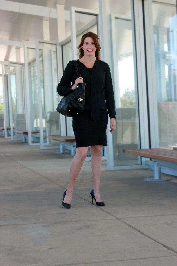 Stylish Saturday: All Black Work Wear