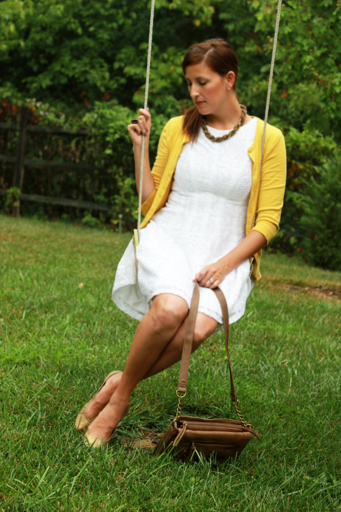 Stylish Saturday: White Dress Summer Style