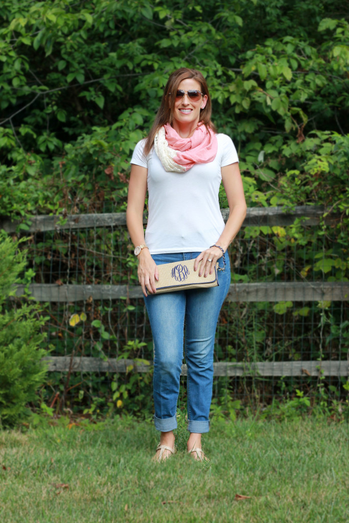 The Pink Monogram Custom Clutch Giveaway