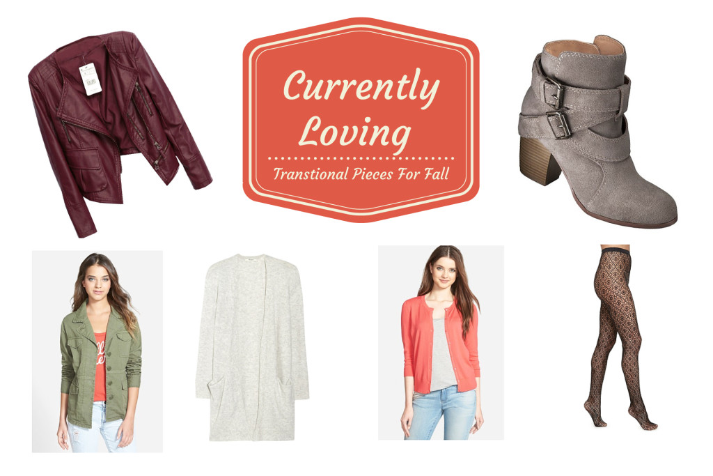 Transitional Pieces for Fall