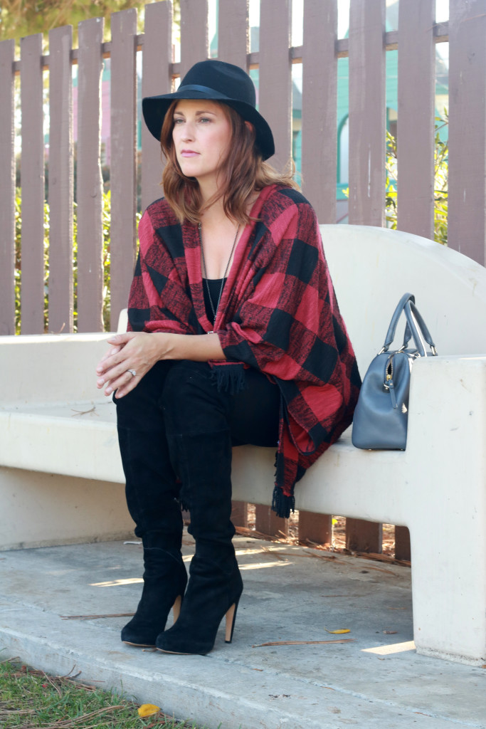 plaid and a hat2