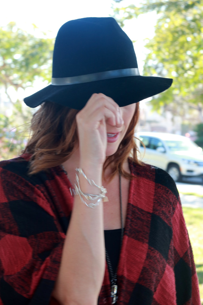 plaid and a hat5