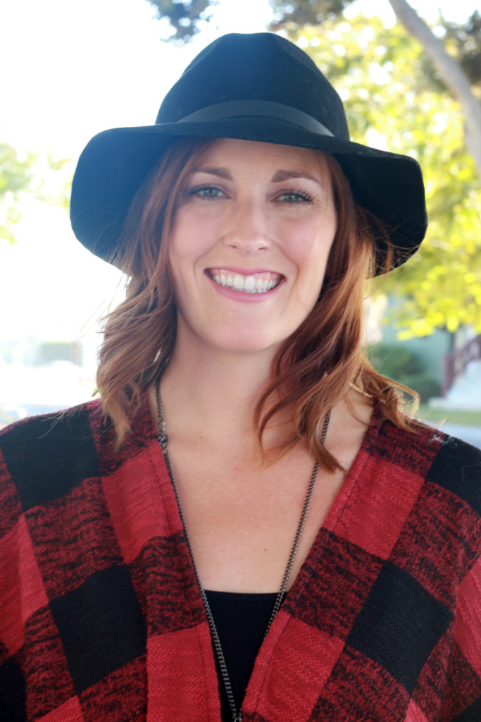 plaid and a hat7