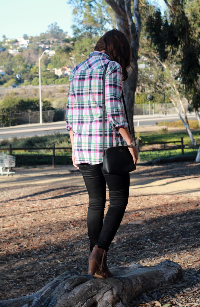colorful plaid