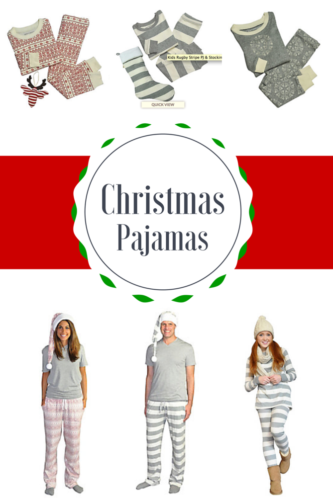 Burts Bees Christmas Pajamas featured by popular Los Angeles fashion blogger, The Fashionista Momma
