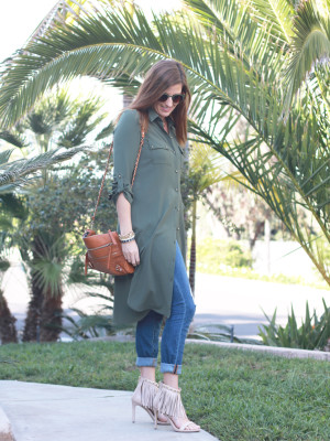 Shirt Dress And Jeans