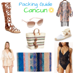 Cancun Packing Guide