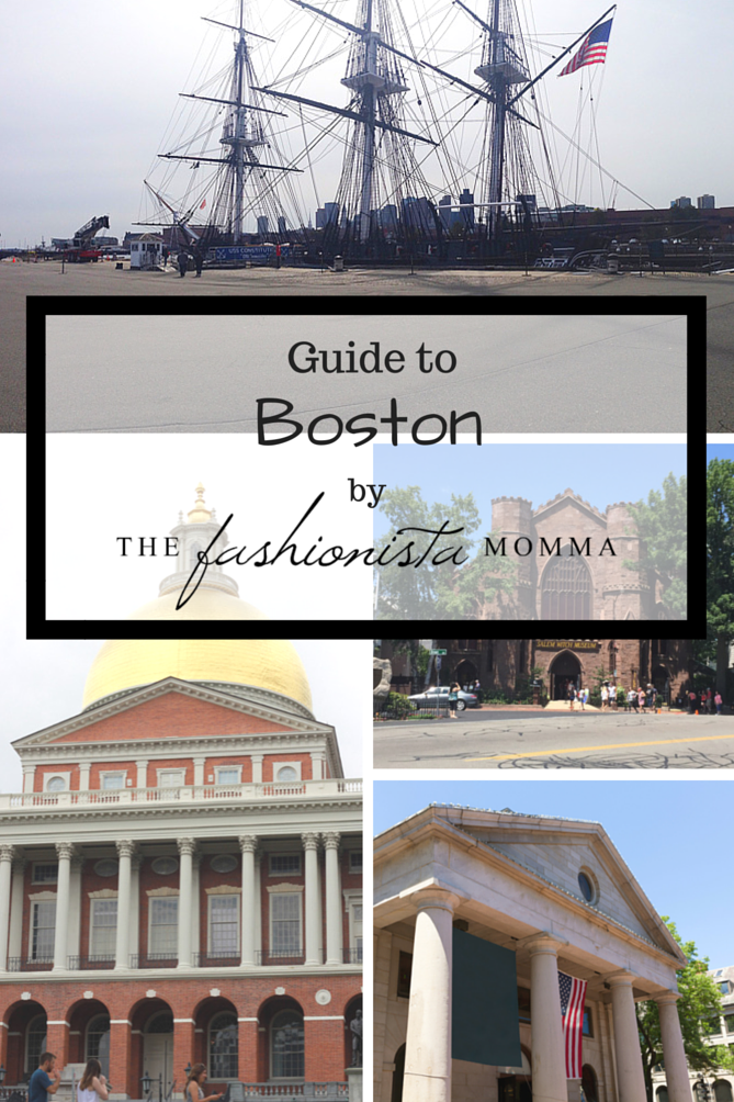 The must see guide to Boston. - The Fashionista Momma