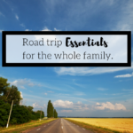 Road Trip Essentials For The Whole Family