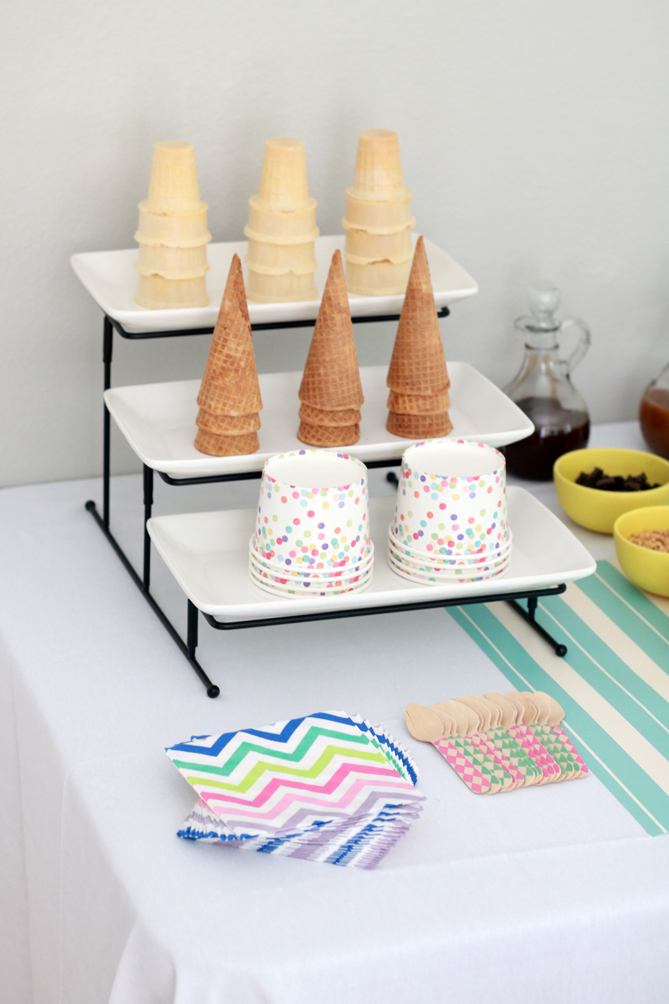 The perfect back to school ice cream social party. - The Fashionista Momma