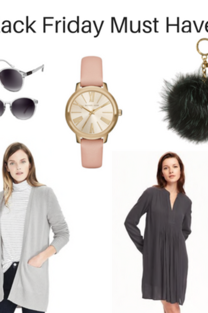 Black Friday Must Haves perfect for your own closet or for gifts.