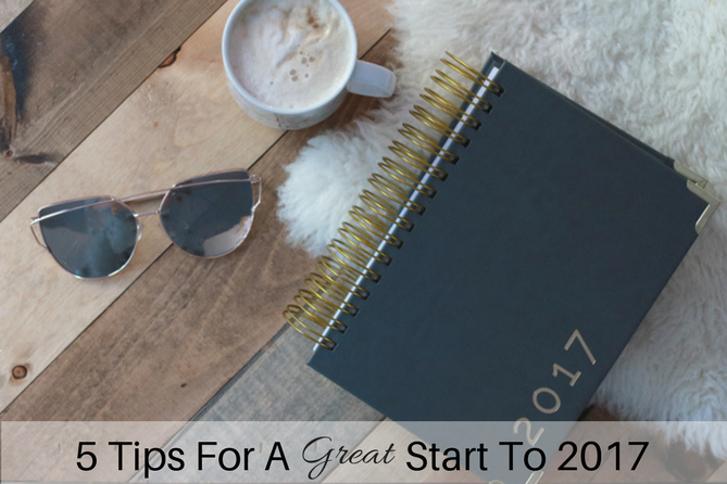 These 5 tips will help you set goals and get ready for the new year.