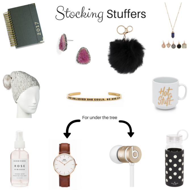Last minute stocking stuffers and gift ideas.