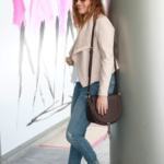 The Weekly Style Edit: Blush Leather Jacket