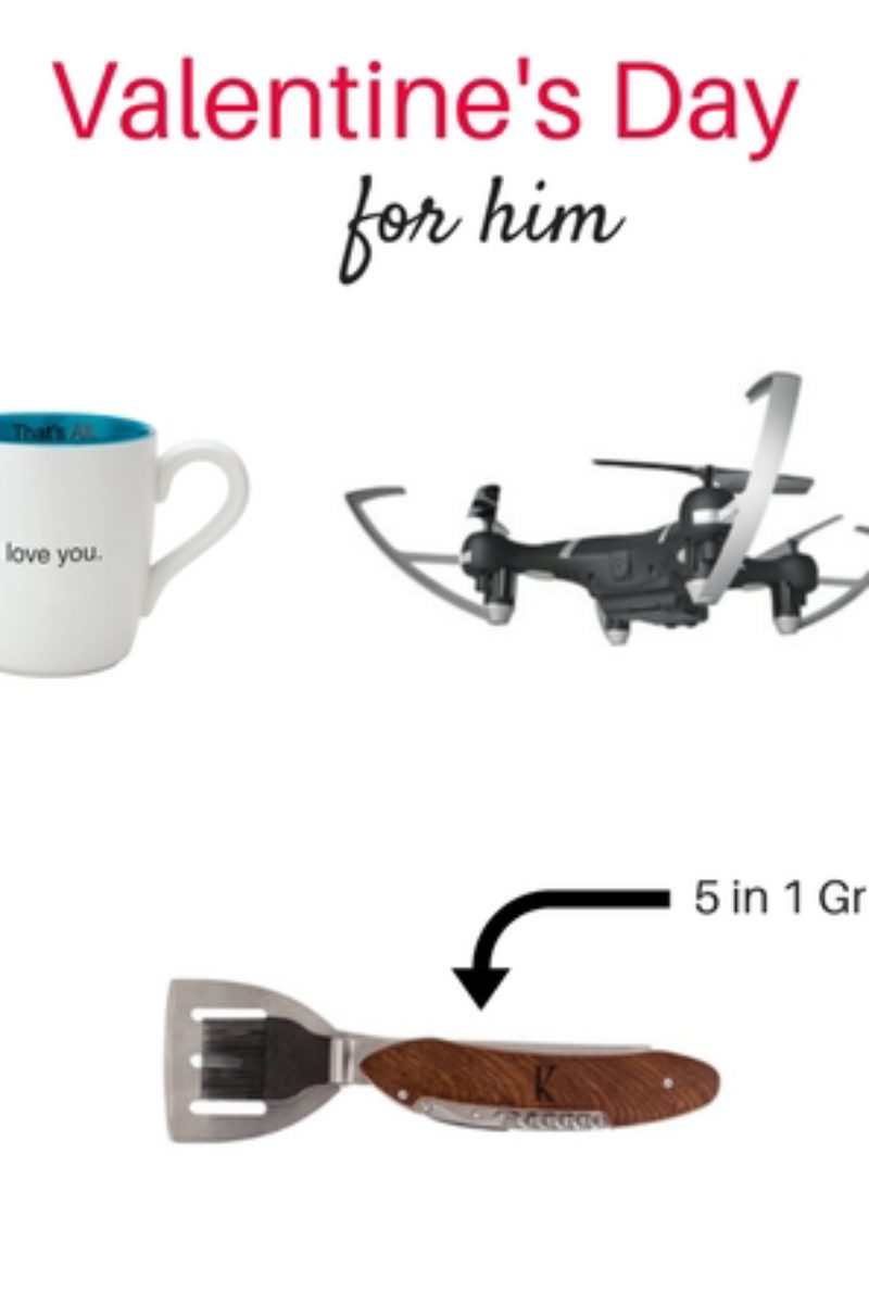 Valentine's Day gift guide for him.