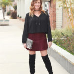 The Weekly Style Edit: Suede Skirt