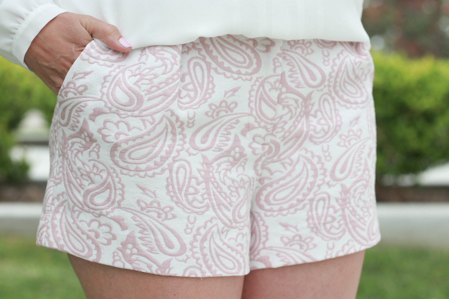 The perfect jacquard shorts from the Victoria Beckham for Target collection.