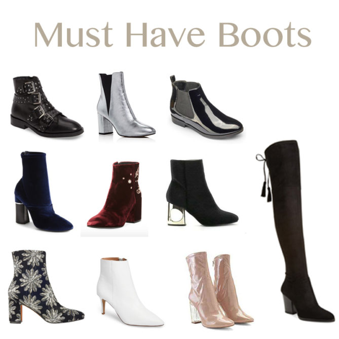 All the must have boots