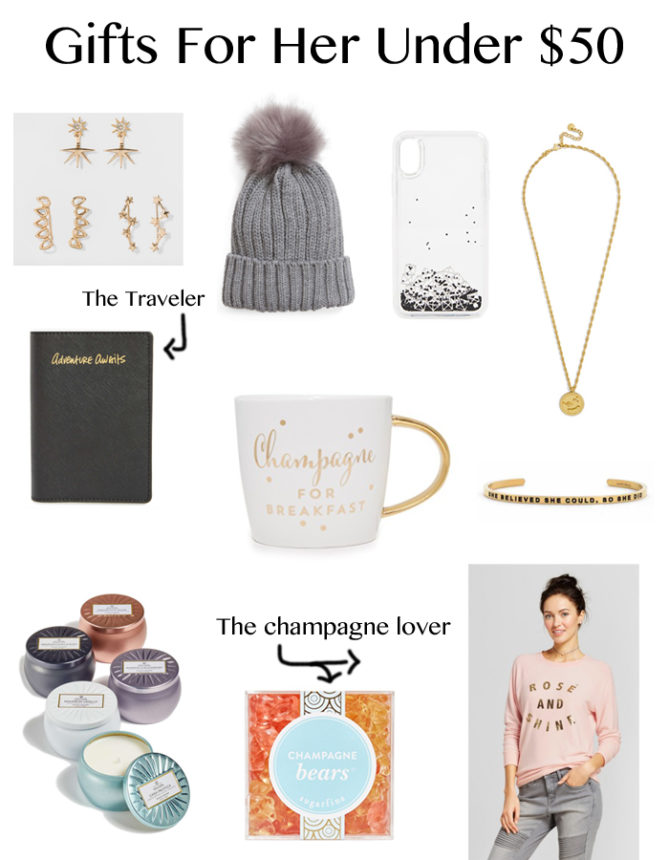 The perfect gifts for her under $50.