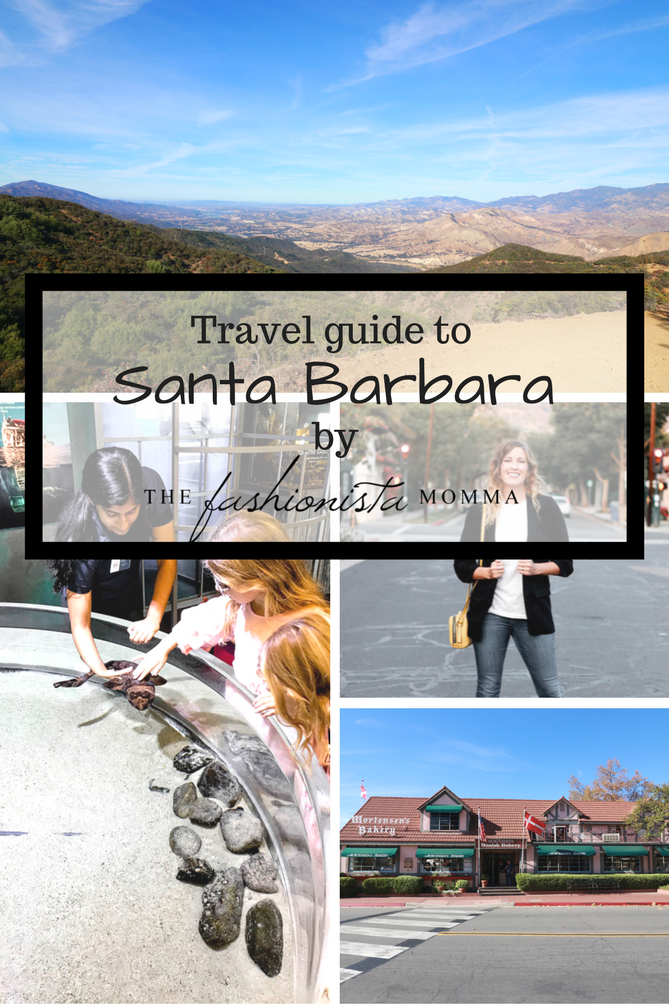 This is a perfect travel guide to Santa Barbara for the family. - Santa Barbara Travel Guide by popular Los Angeles lifestyle blogger The Fashionista Momma