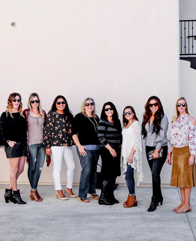 A great mom's day out with a limo bus from Aall In Limo and wine tasting in Temecula Wine Country.