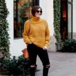Mustard Chunky Knit Sweater