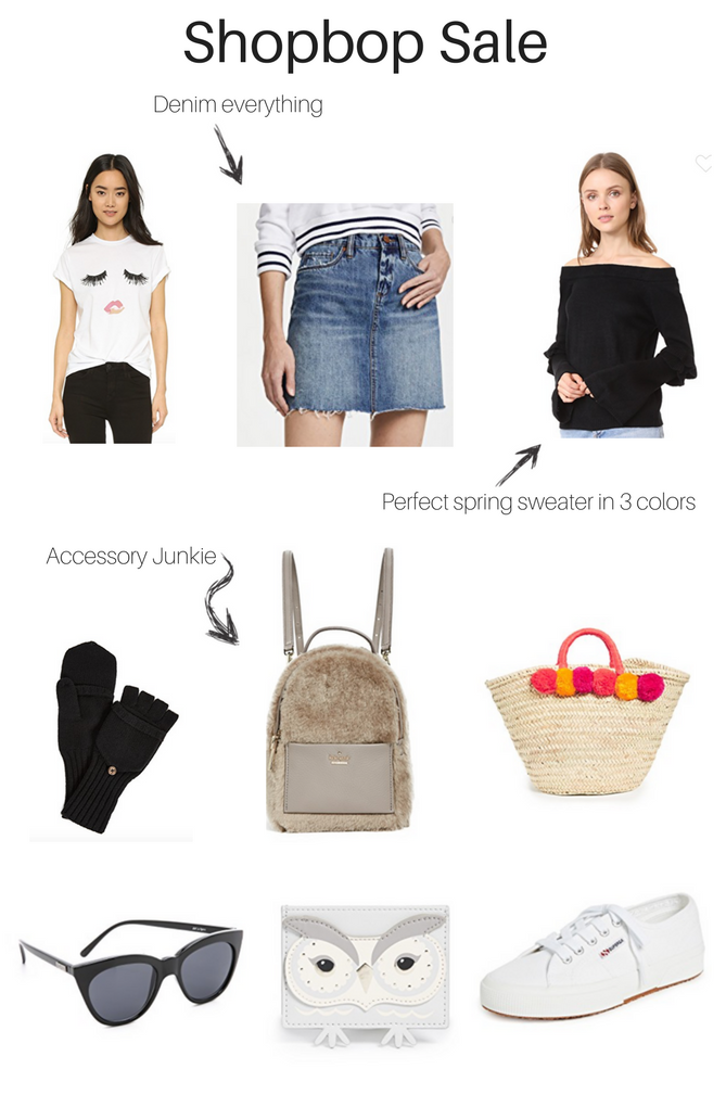 The buy more save more Shopbop sale is happening. Save big on all of your favorite items. - Spring Shopbop Sale favorites by Los Angeles fashion blogger The Fashionista Momma