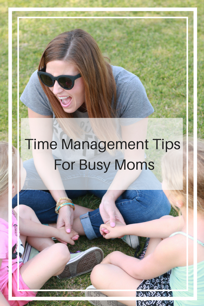 These easy time management tips for busy moms will help save you balance a busy schedule.