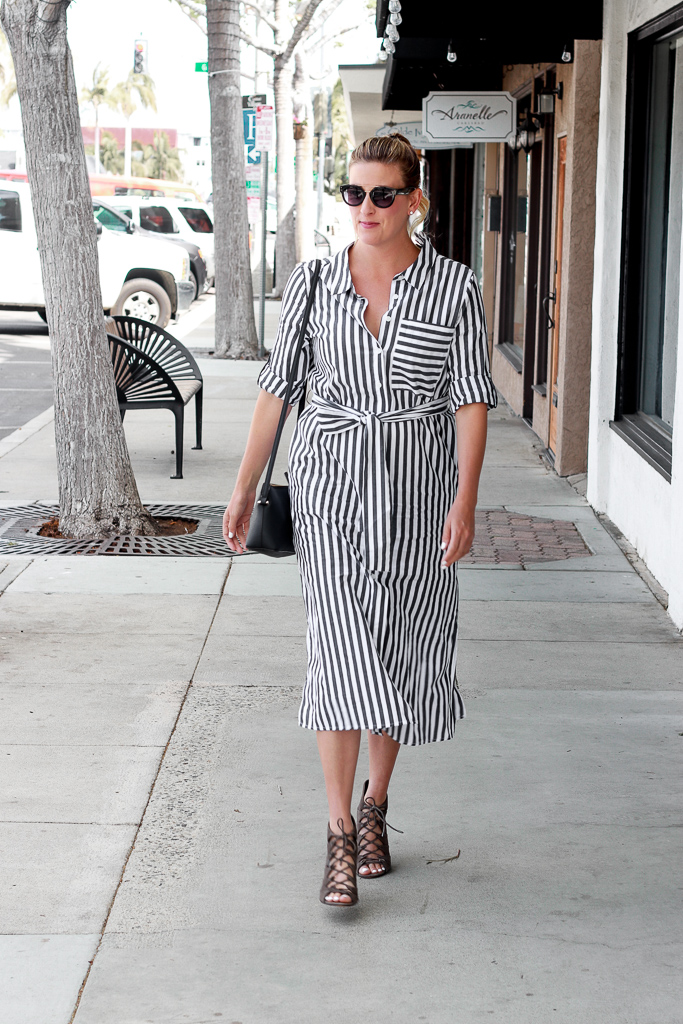 The Weekly Style Edit: The Striped Shirt Dress