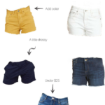 Basic Body Shapes: The Best Shorts For A Pear Shaped Girl