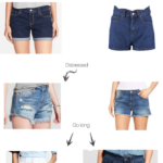 Basic Body Shapes: The Best Shorts For An Apple Shaped Girl