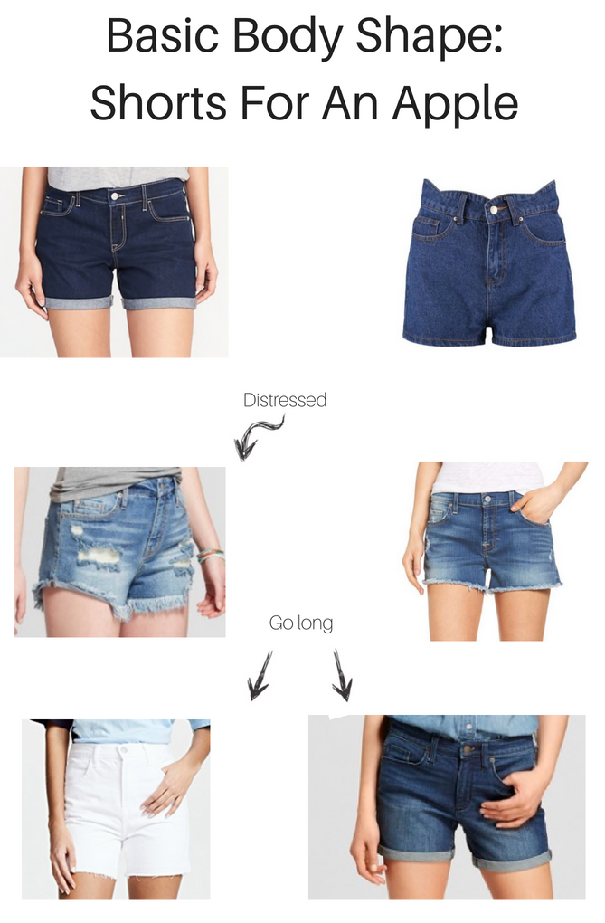 THE BEST SHORTS FOR AN APPLE GIRL featured by top LA fashion blogger, Style & Wanderlust