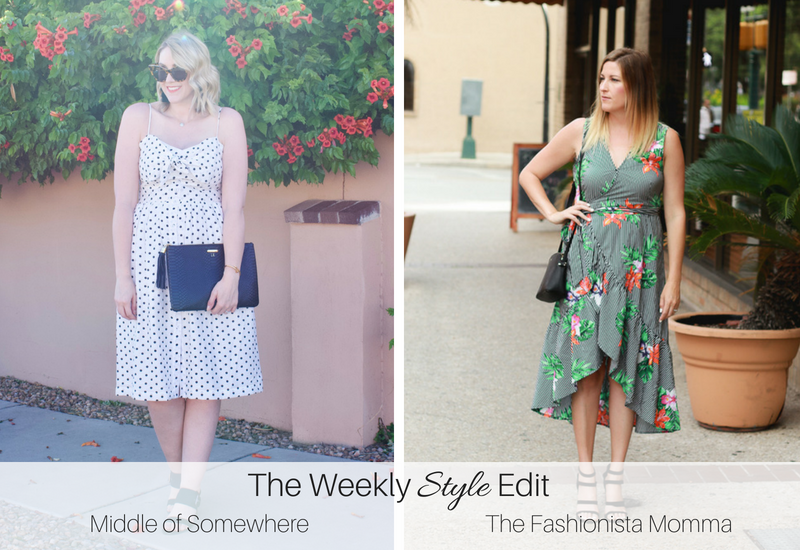 Ruffle Wrap Dress featured by popular Los Angeles fashion blogger, The Fashionista Momma
