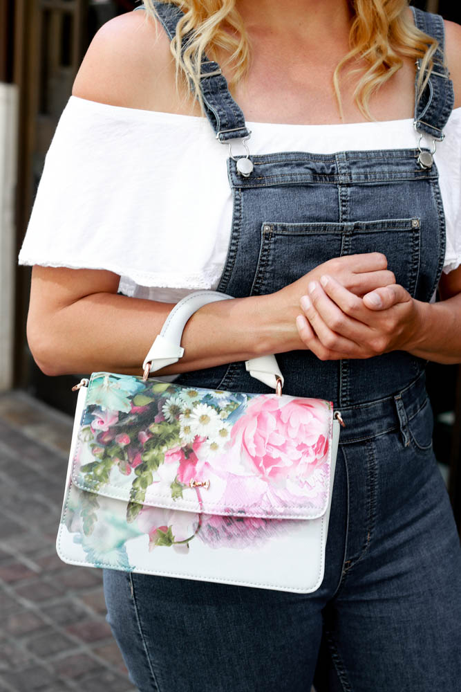 Cute Fitted Overalls by popular Los Angeles fashion blogger, The Fashionista Momma
