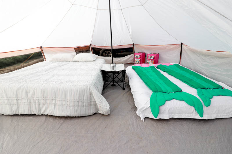 Glamping Ideas by popular Los Angeles lifestyle blogger, The Fashionista Momma