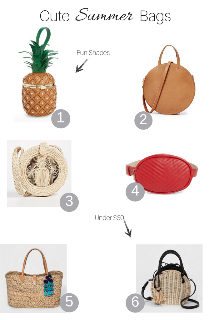 Cute Summer Bags You'll Love featured by popular Los Angeles fashion blogger, The Fashionista Momma