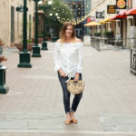 White Off The Shoulder Top: The Weekly Style Edit