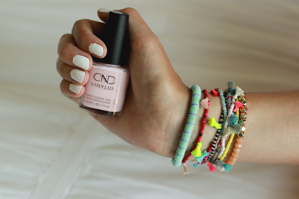 The Ultimate White Manicure featured by popular Los Angeles style blogger, The Fashionista Momma