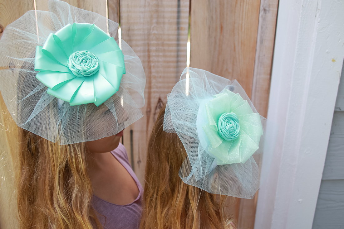 DIY Fascinator featured by popular Los Angeles life and style blogger, The Fashionista Momma