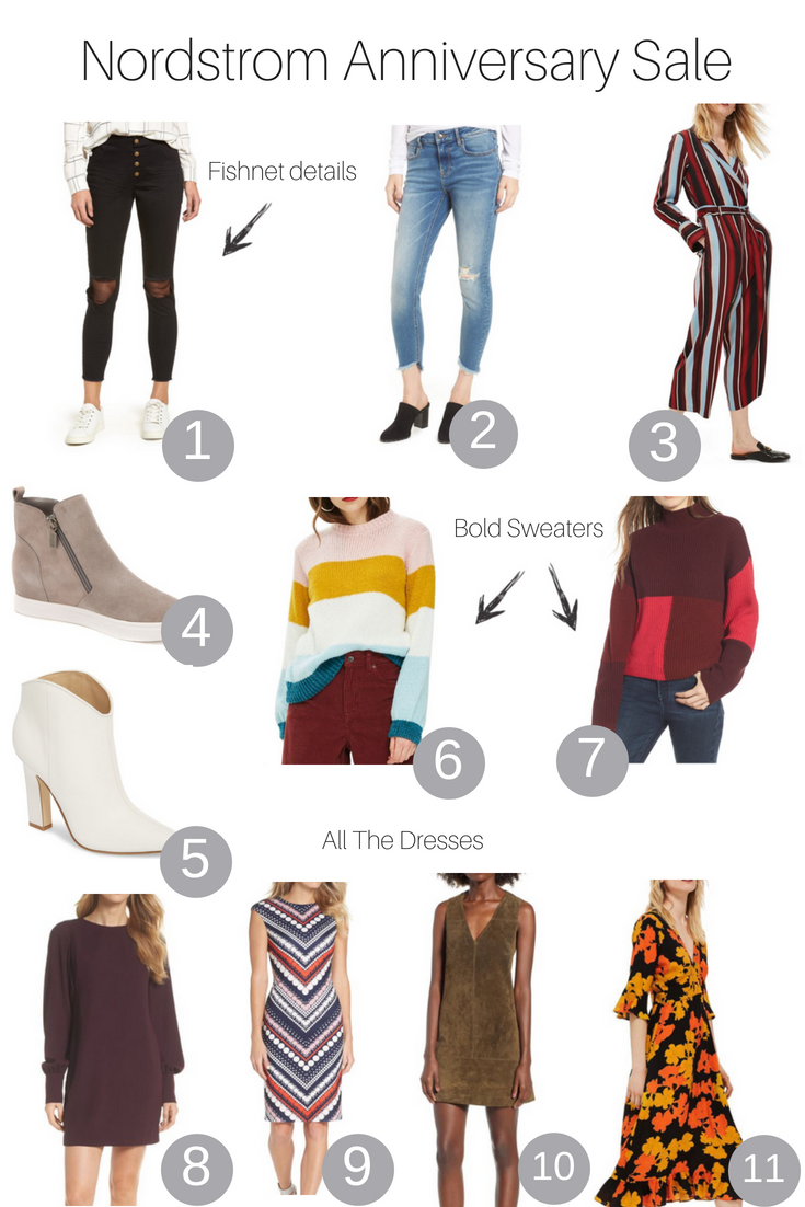 Los Angeles Fashion Blogger, The Fashionista Momma shares her favorite picks from the Nordstrom Anniversary Sale happening now.