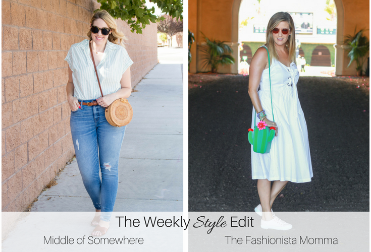 A Feminine White Tank Dress from Target featured by popular Los Angeles fashion blogger, The Fashionista Momma