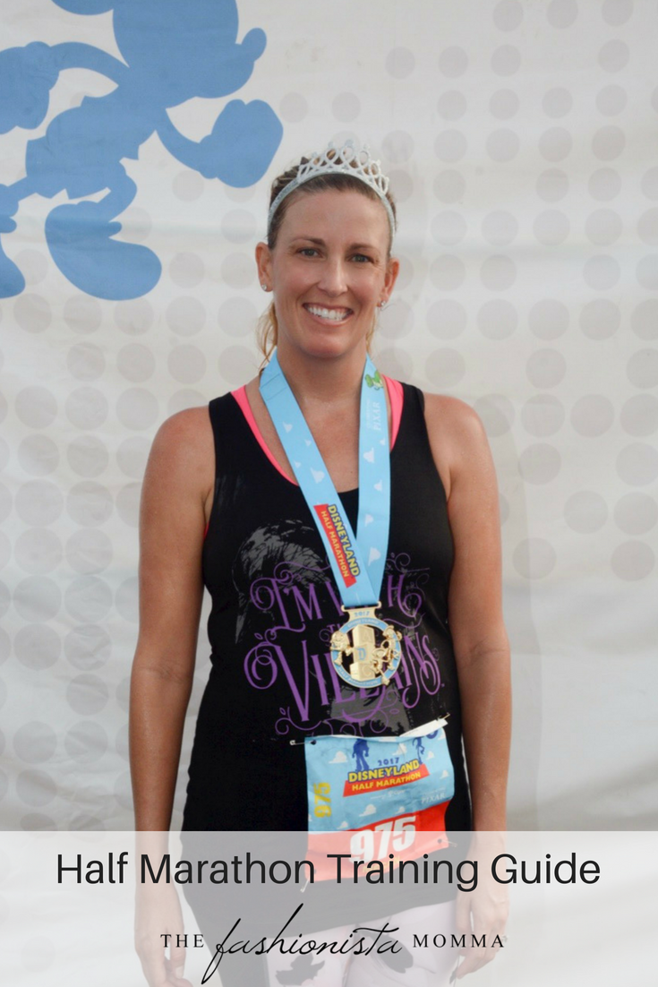 A great half marathon training guide with a schedule and tips to help you train.