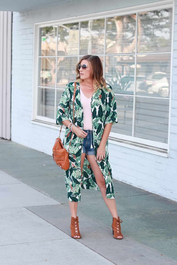 Tropical Kimono - The Weekly Style Edit