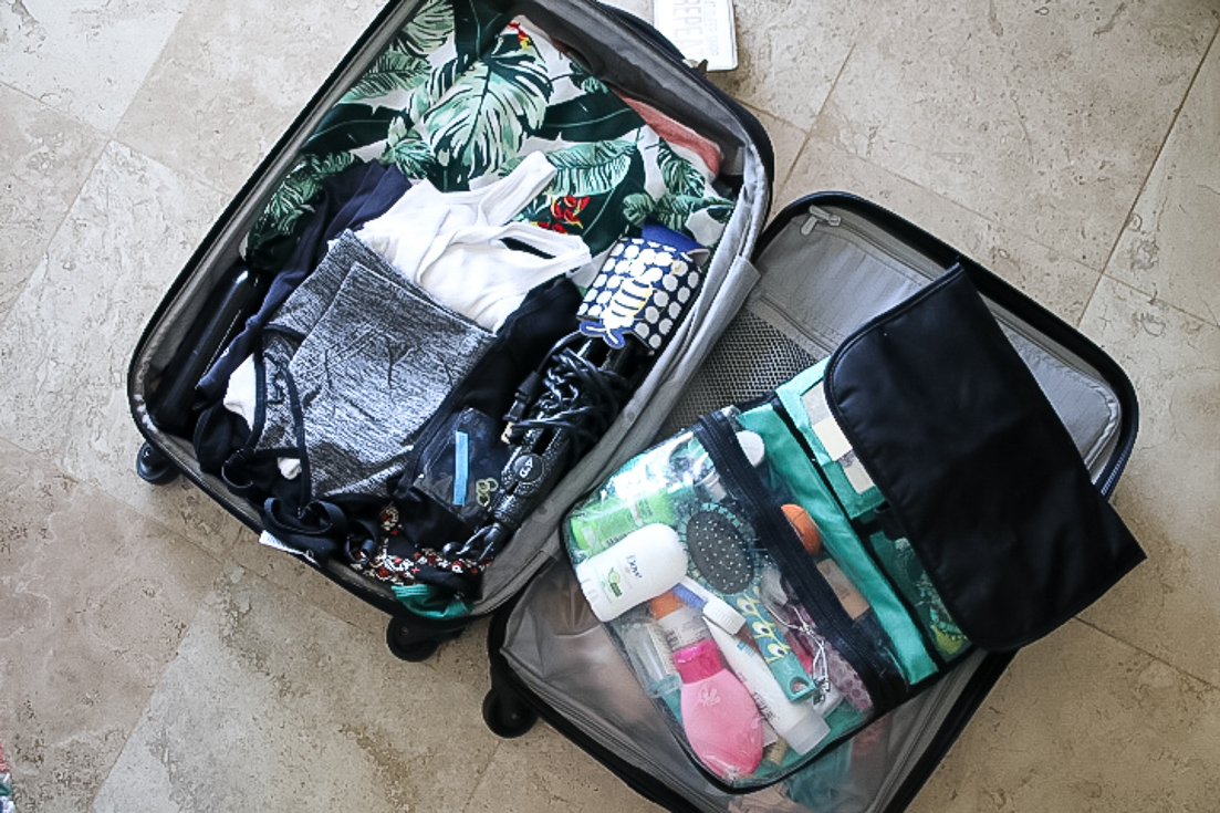 How To Pack For A Week Trip In A Carry-on featured by popular Los Angeles life and style blogger, The Fashionista Momma