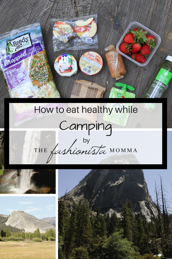 The Perfect Healthy Foods for Camping: nuts, fruits, green smoothie, featured by popular Los Angles lifestyle blogger, The Fashionista Momma