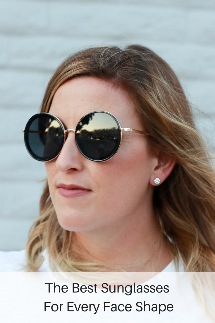 The Best Sunglasses for Every Face Shape featured by popular Los Angeles fashion blogger, The Fashionista Momma