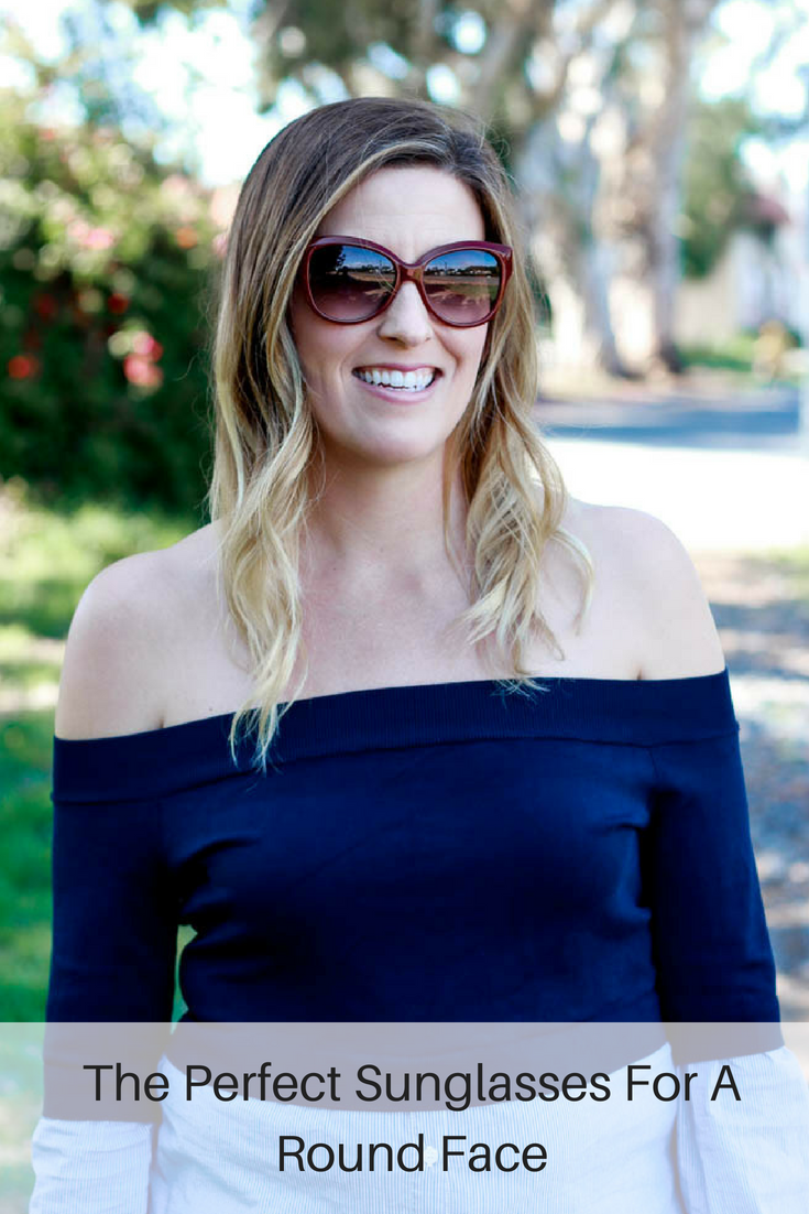 Perfect Sunglasses For A Round Face: cats eye, featured by popular Los Angeles fashion blogger, The Fashionista Momma
